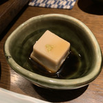 味厨庵 - 料理写真:お通しの胡麻豆腐