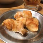 炭火焼肉ホルモン 煙 - マルチョウ タレ