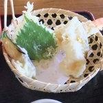 9931154 - サクサク揚げたての天ぷらですょ♪
