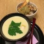 99310379 - ジャンボ茶碗蒸し&ミニ天丼