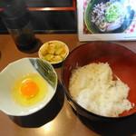 Sanukiteiseimenjo - 玉子掛けご飯
