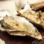 寿司 仁 - いろは島牡蠣焼き
