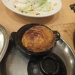 炭火焼 しちりん - ニンニクオイル焼き後で作れる卵焼き(2018.12.3)