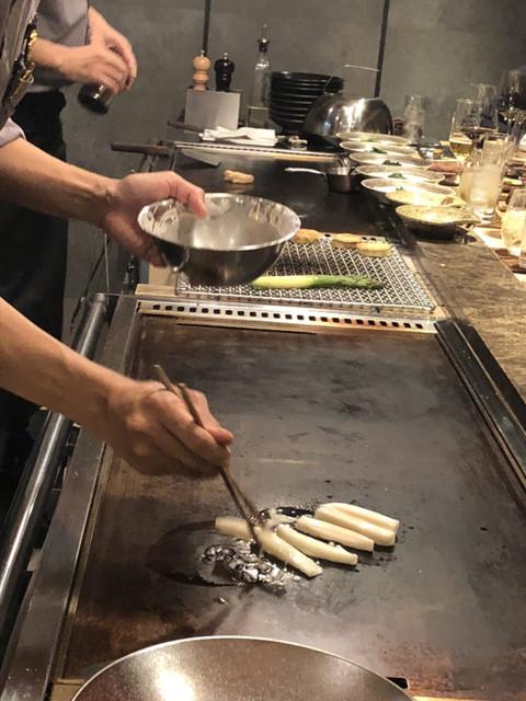 鉄板焼 未ら音の料理の写真