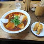 99314972 - チャーシュー麺といなり寿司