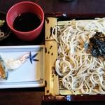 Daimaru - 天ぷら、さらしな蕎麦