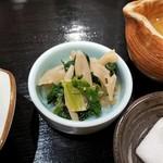 赤坂 和寿 - 小鉢、小松菜