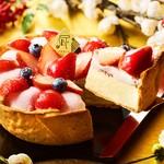 焼きたてチーズタルト専門店PABLO - 料理写真:1月限定チーズタルト「いちご大福」