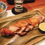 99319050 - 比内地鶏 モモピリ辛焼き:2500円