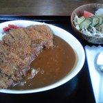 食堂 山男 - カツカレー