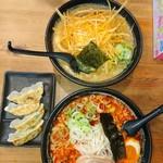 麺や むこうぶち - 料理写真:今回の注文