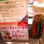 華元 - 卓上【オリジナル蕎麦ふりかけ】