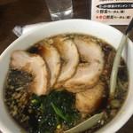 麺屋 長衛門 - ブラックちゃーしゅう 918円