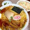 食堂 多万里 - 料理写真:ラーメン半チャーハンセット