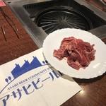 アサヒビール園 羊々亭 - 味付けミトン肉