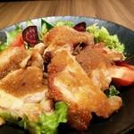 鶏すき焼き はら志の - 生姜も効いています