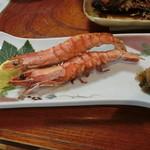 魚料理 いず松陰 - この焼き海老は美味い