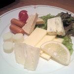 瓢 - チーズ盛り合わせ