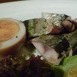 ワイン厨房 晩酌邸 - 秋刀魚のスモーク