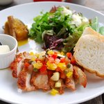 DBL CAFE DINER - 若鶏のチキングリル(ランチ)