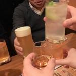 The 甲南ハイボール - かんぱ~い