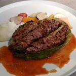 99331656 - 蝦夷鹿肉のフランス風ロールキャベツ