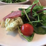 トレ - 前菜サラダ。