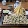 Sanshirou - 料理写真:「天ざるそば」(1300円)+「そば大盛り」(200円)