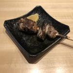 鶏と野菜 炭焼 ひさどり - モモ裏