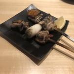 鶏と野菜 炭焼 ひさどり - 再びモモ二本