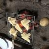 料亭 長坂 - 料理写真:筍を焼いて抹茶塩で頂きます