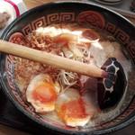 すわき後楽中華そば - スペシャル醤油ラーメン