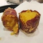 天源・天ぷら専門店 - 中はホクホク、甘味も上手く引き出されていますね