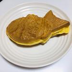 おめで鯛焼き本舗 - カスタードの鯛焼き。昇運。