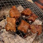脇田屋 - 中落ちカルビ初めて食べました。ごはん進む!!