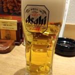 水炊き・焼き鳥 とりいちず - スーパードライ199円