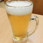 がんこ寿司  - ミニ生ビール