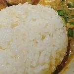 武者麺 - ご飯ダイブ