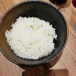 横浜家系ラーメン 銀家 - 無料の小ライス