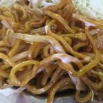 日の出製麺所 - そば焼