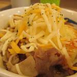 松屋 - 旨辛チーズポテト牛めしミニ