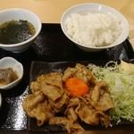 餃子楼おとど餃子食堂 - スタミナ定食 880円