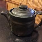 久呂無木 - 蕎麦湯です。