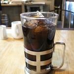 ロージナ茶房 - セットのアイスコーヒー
