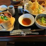 あじさい街道 - 料理写真:蒸し寿司御膳