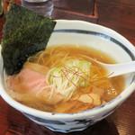麺心 あしまる - らーめん(塩)750円