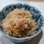うを徳 - 2018.12 岩手松茸と氷見ブリの炊き込みご飯