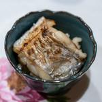 うを徳 - 2018.12 竹岡太刀魚とカラスミのミニ丼
