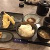 天ぷら倶楽部 - 料理写真:日替わり定食 天ぷら6品のうち 3品きたところ