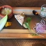 ROASTER - 季節のランチ税込2380円♤前菜